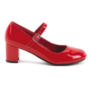 School Girl 50 Red Patent