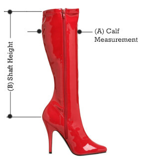 seduce 2000 boot dimensions