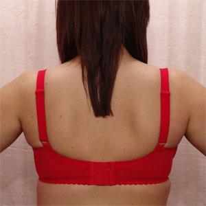 underwired bra 10799 in red