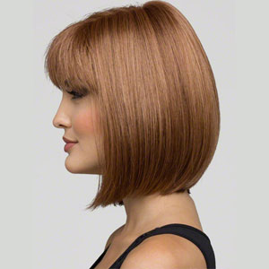 Blossom monofilament wig. Short style chic and stylish styled wig.