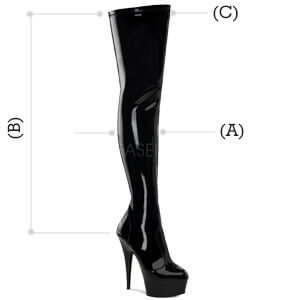 Delight 3000 boot dimensions