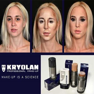 TV paint stick by Kryolan