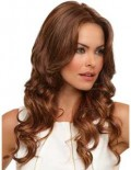 Nettle lace front wig with monofilament cap.