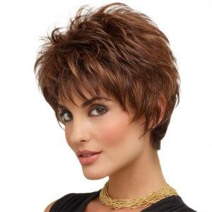Primrose Monofilament Wig , stylish short length wig