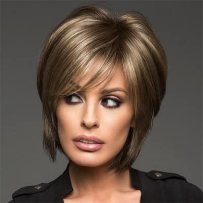 Reese Large Cap Wig A Short Highly Fashionable Style