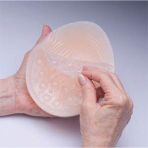 Breast Form adhesive replacement pads. These are removable pads for our triangular and semi-round Premier range of silicone breast forms