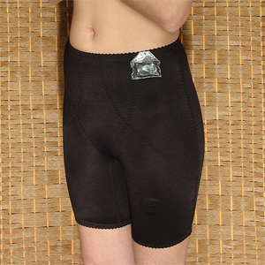 78ea50e1ec3 Longline panty girdle with removable suspender clasps