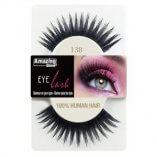 Amazing shine138 lashes - 100% human hair false eyelashes