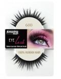 Amazing shine 600 lashes 100% human hair false eyelashes