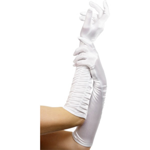 Temptress gloves white