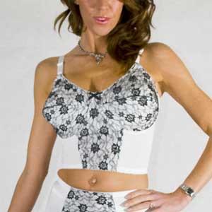 vintage longline bra