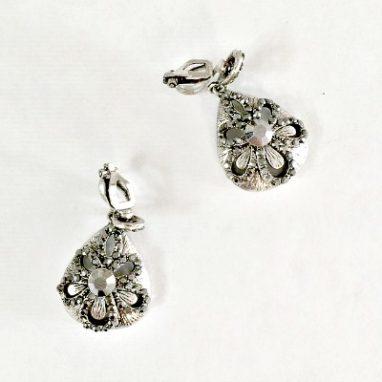 shell clip-on earrings