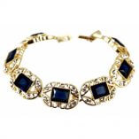 Venetti Diamante Bracelet in gold/clear/montana