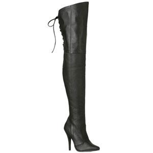 Legend 8899 leather 5 inch stiletto heel thigh boots