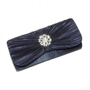 Evening bag in black