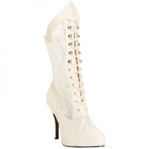 Victorian 116X calf length boot Pleaser USA