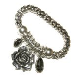 Elasticated Rose Bracelet