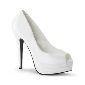 Bella-12 White Patent
