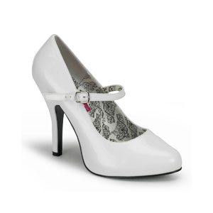 Tempt 35 bordello range white patent