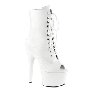 Adore 1021 White Faux Leather