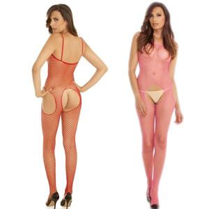 Industrial Net Suspender Bodystocking