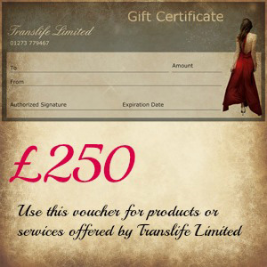 £250 Translife Gift Voucher