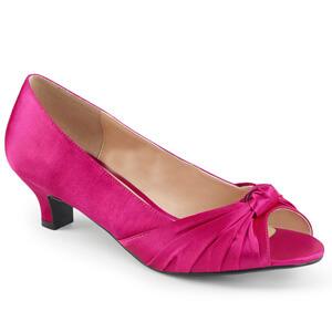 Fab 422 hot pink satin