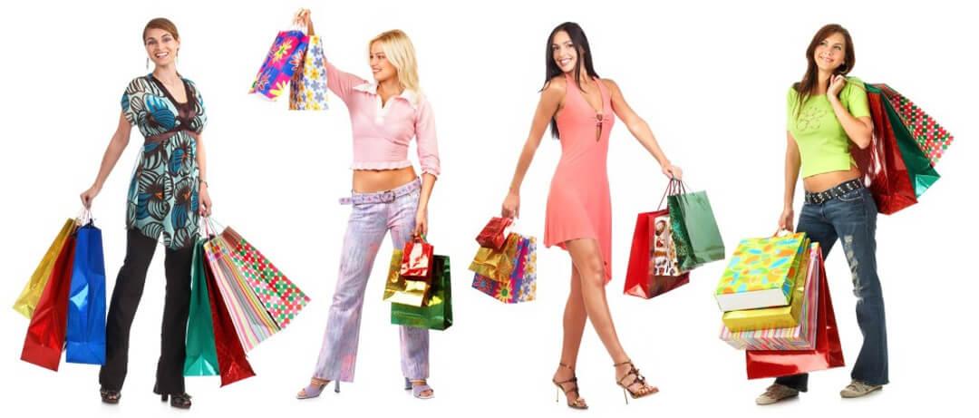 Crossdressing shopping