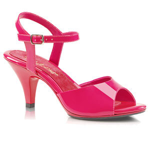 Belle 309 hot pink patent