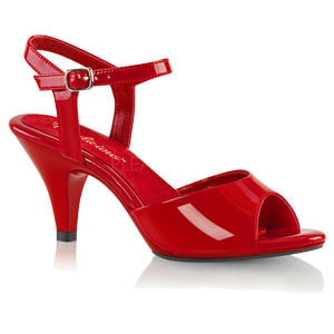 Belle 309 red patent