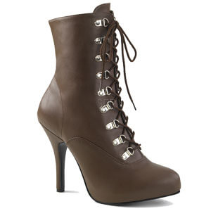 Eve 106 Brown Faux Leather