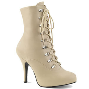 Eve 106 ankle boot cream faux leather