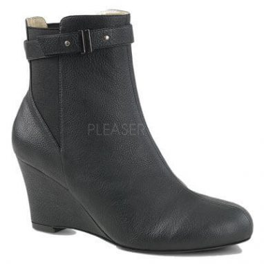 Kimberly 102 black faux leather