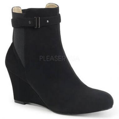 Kimberly 102 ankle boot black suede