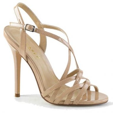 Amuse 13 Nude Patent Finish