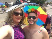 Dallas Pride crossdressed