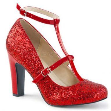 Queen 01 Red Glitter