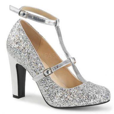 Queen 01 Silver Glitter