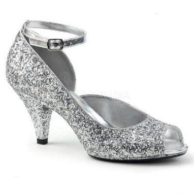 Belle 381G Silver Glitter