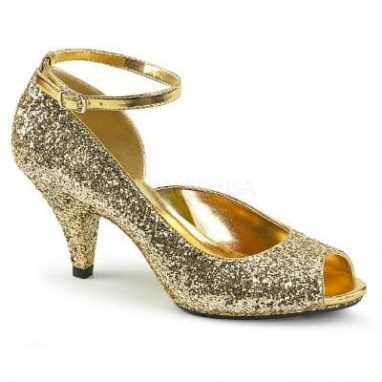 Belle 381G Gold Glitter