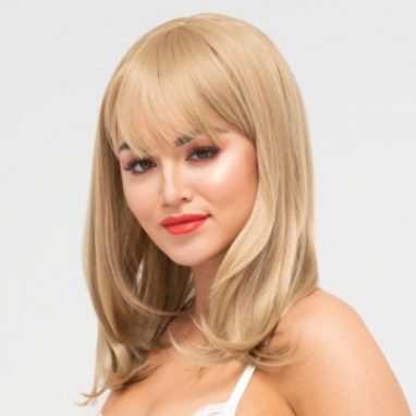 sophia synthetic long wig