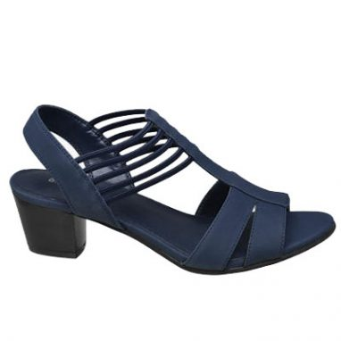 Navy strappy sandal