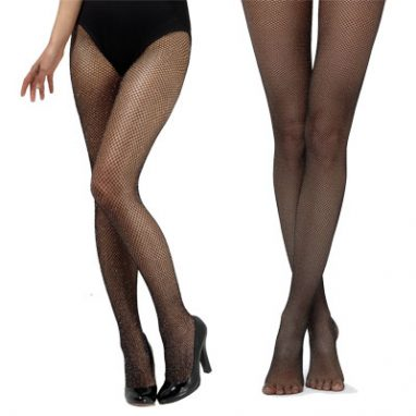 Fishnet Glitter Tights