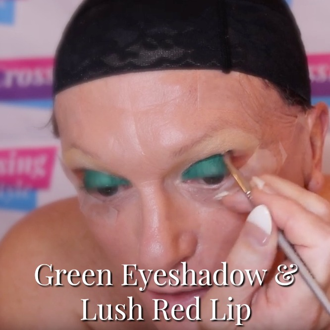 Cross Dressing Makeover – Green Eyed Monster