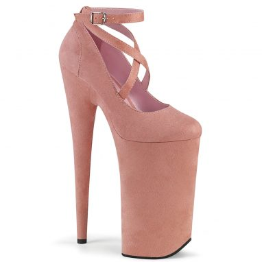 Beyond 087FS Baby Pink Suede