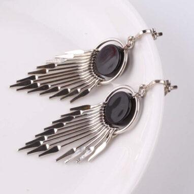 Drop Rhinestone earrings