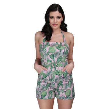 Pink Forest Playsuit